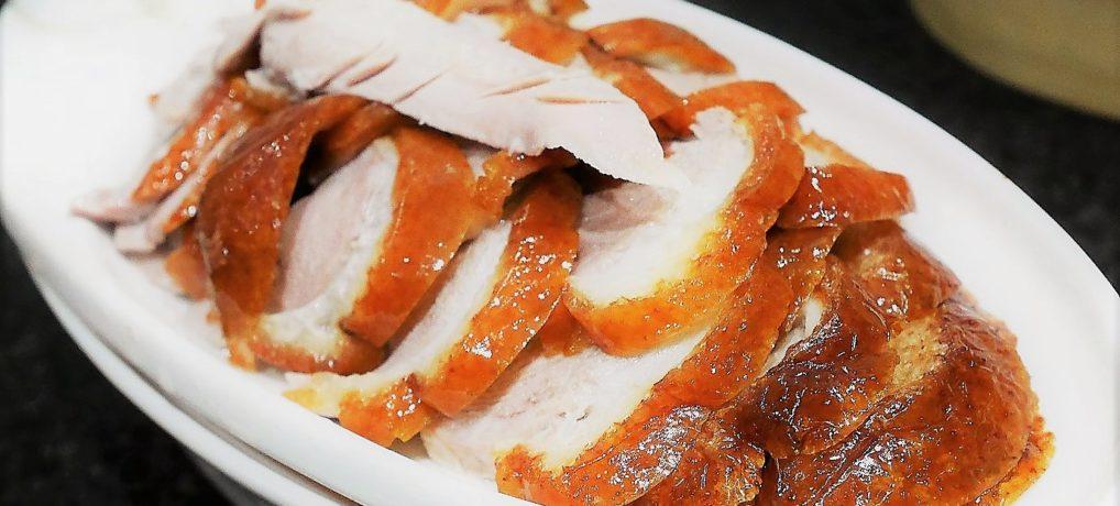 やっと、北京ダックが食べれました!西安・北門付近の専門店「老铺烤鸭」